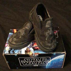 Infant Darth Vader Vans size 4